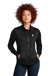 KFC New Era® Ladies Performance Terry Full-Zip Cowl