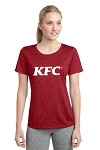 KFC Ladies Sport-Tek® Heather Contender™ Tee