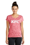 KFC Ladies Sport-Tek® PosiCharge® Electric Heather Tee
