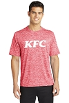 KFC Sport-Tek® PosiCharge® Electric Heather Tee