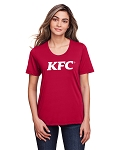 KFC Core 365 Ladies' Fusion ChromaSoft™ Performance T-Shirt