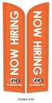 Now Hiring 12' Feather Flag