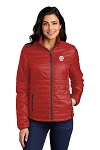 Pizza Hut Port Authority® Ladies Packable Puffy Jacket