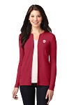 Pizza Hut Port Authority® Ladies Concept Stretch Button-Front Cardigan