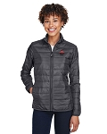 Pizza Hut Core 365 Ladies Prevail Packable Puffer Jacket