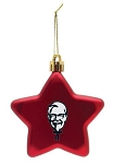 KFC Shatter Resistant Red Ornament Star