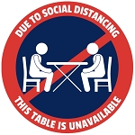 Table Sticker