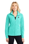 KFC Port Authority® Ladies Heather Microfleece Full-Zip Jacket