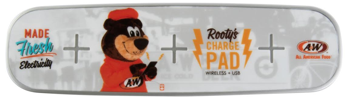 A&W WIRELESS CHARGING PAD (OUT OF STOCK UNTIL APRIL)