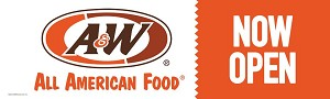 A&W Now Open (Outdoor Banner)