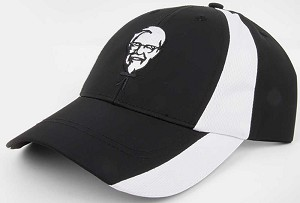KFC Black & White Dry-Wicking Cap (Out of stock until March)