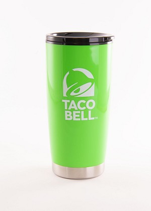 Taco Bell 24 oz.  Lime Green Tumbler