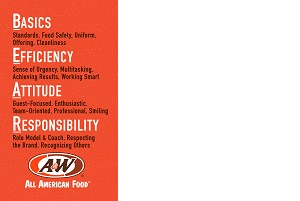 A&W BEAR Care Poster